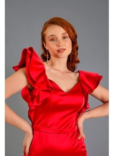 Carmen Elbise Kırmızı